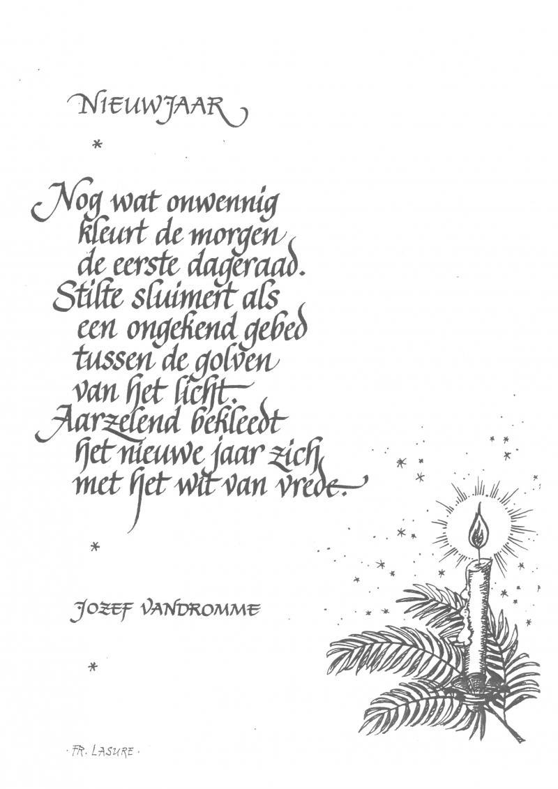 Januari In Een Gedicht Landbouwleven
