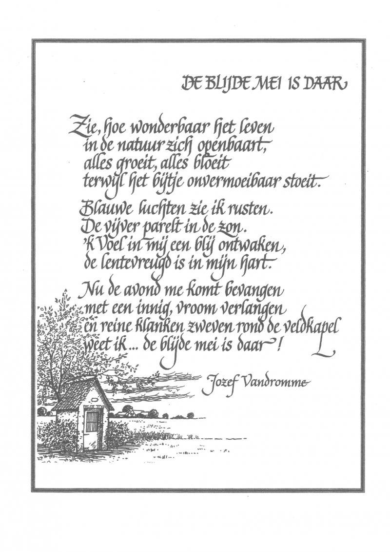 Mei In Een Gedicht Landbouwleven