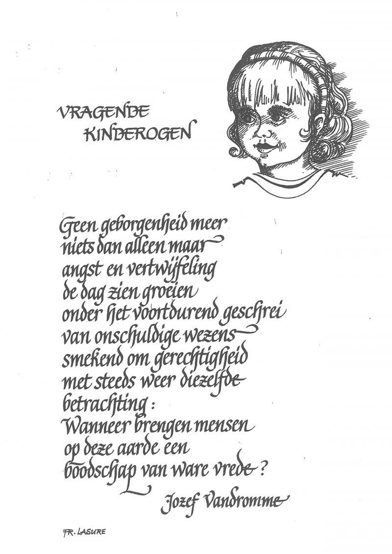 December In Een Gedicht Landbouwleven